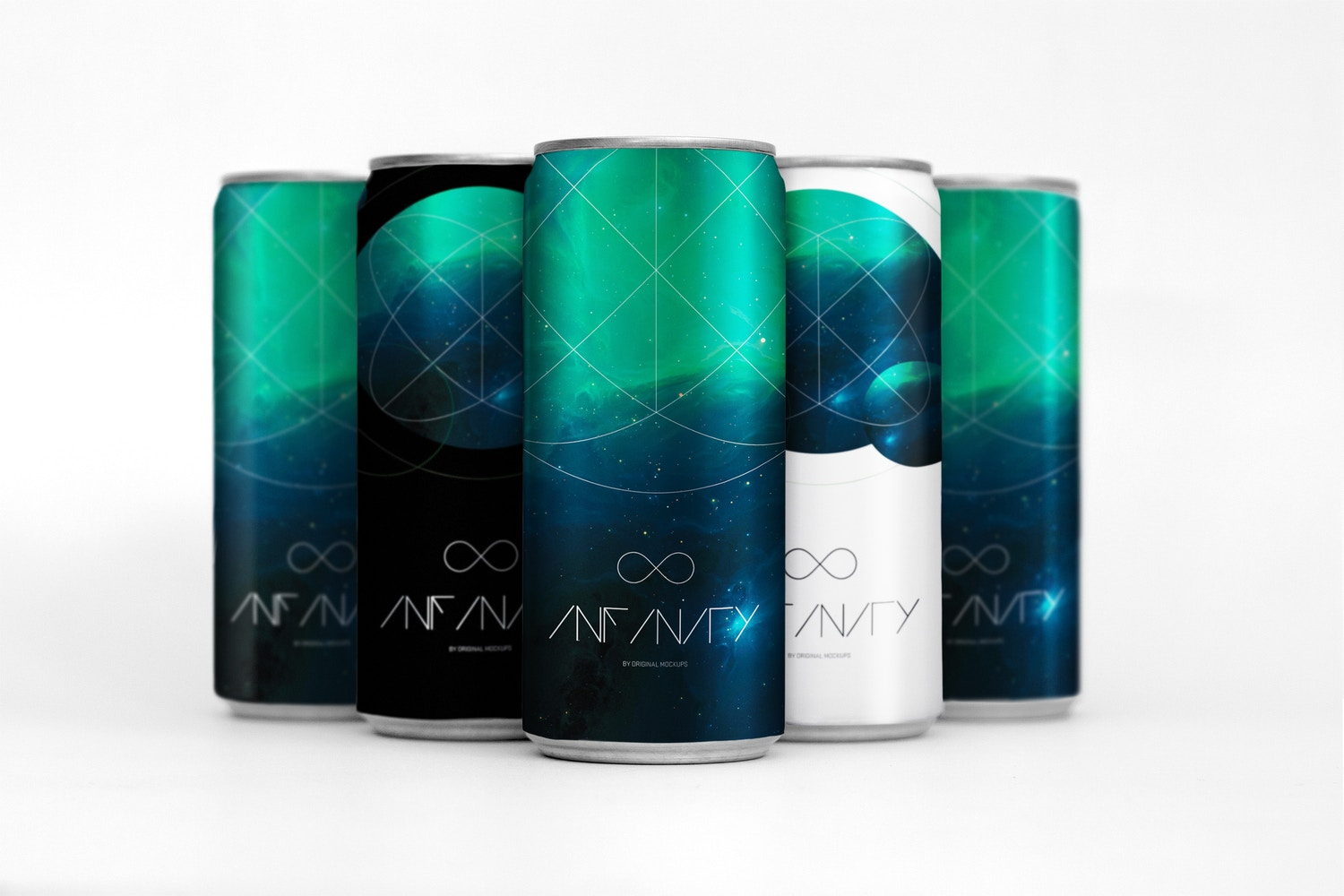 Sleek Cans Mockup 1 by Original Mockups on Original Mockups