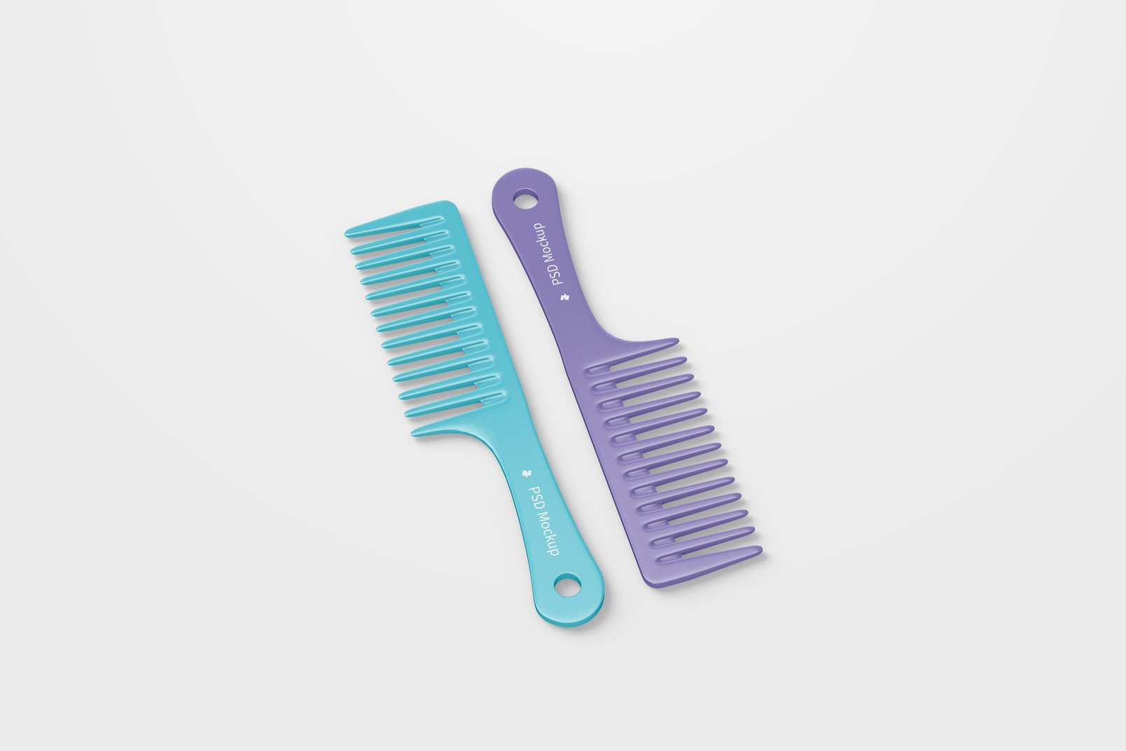 Wide Tooth Combs Mockup