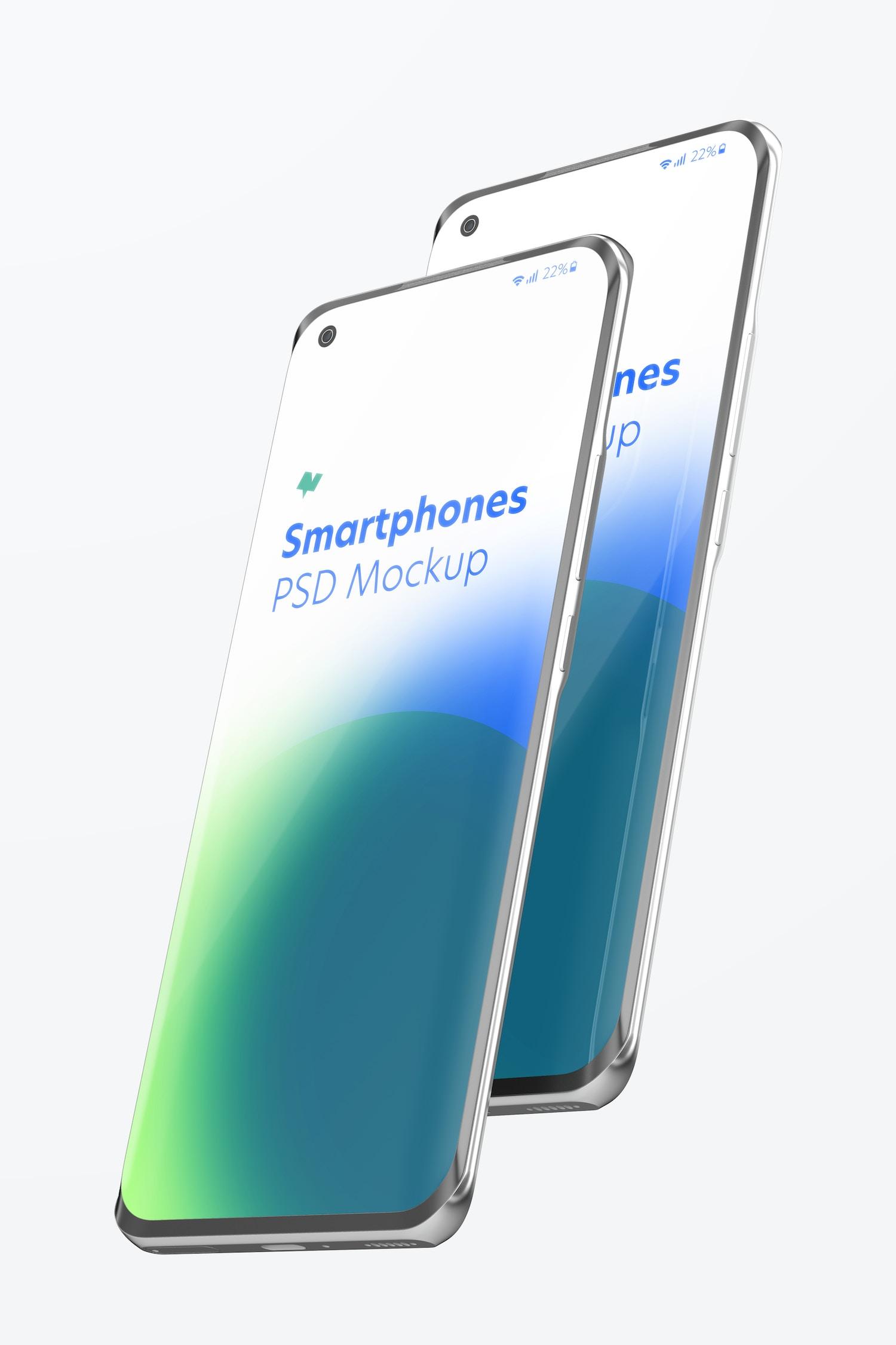 Xiaomi Smartphones Mockup